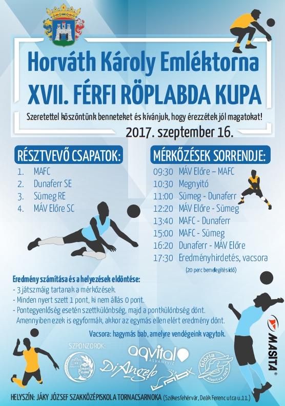 2017 horvath karoly emlektorna