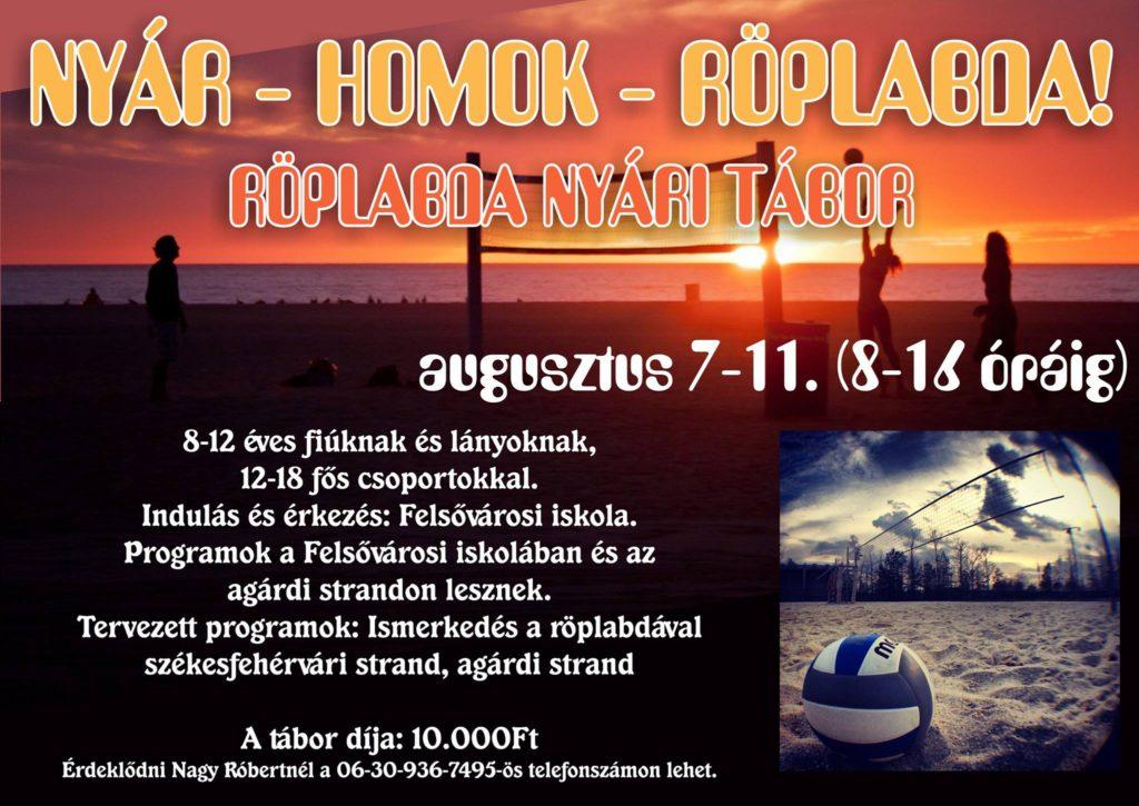 2017strandroplabda tabor plakat