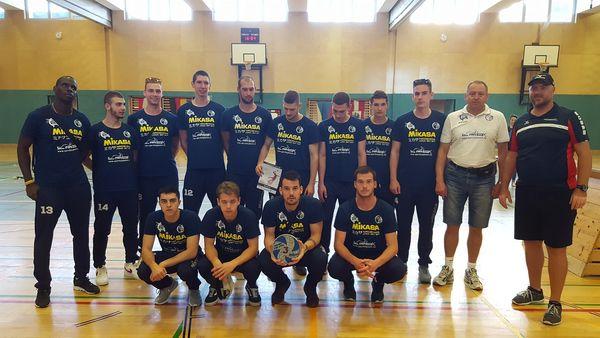 A 3 . helyezett csapat
