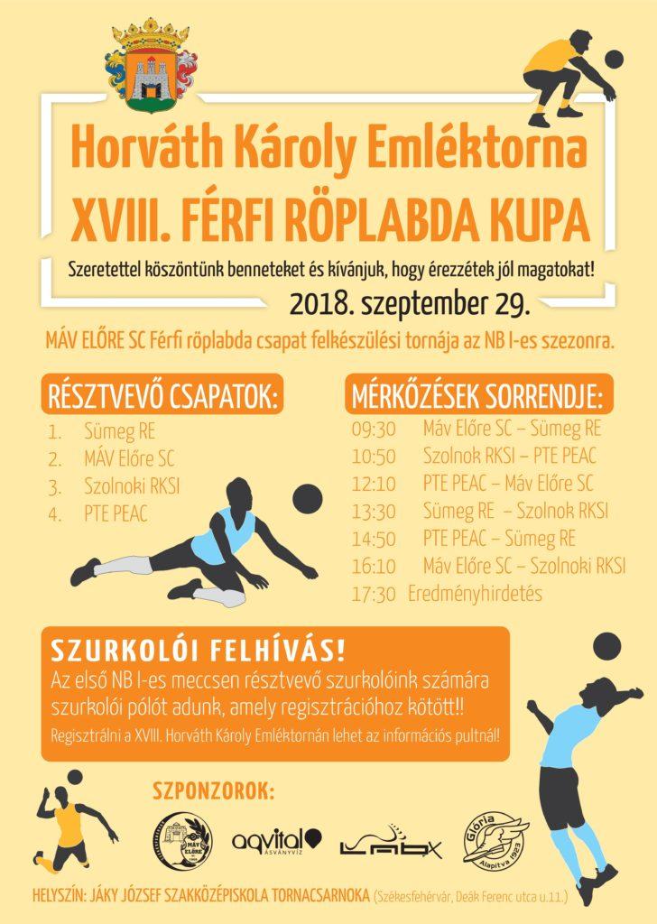 Horvath Karoly emlekkupa 2018